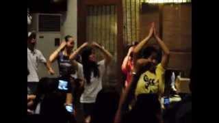 ER Girls' Dance Number - Christmas Party 2011