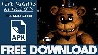 Download lagu How To Download Five Nights at Freddy s Apk For Android 2018 MP3