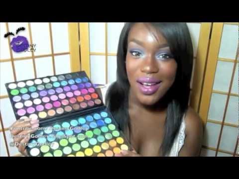 Nicki Minaj - Super Bass Makeup On Dark Skin