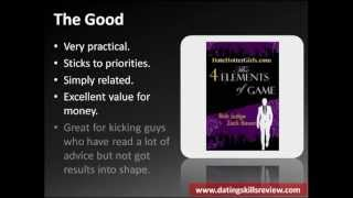 The 4 Elements of Game Review - Zack Bauer - Date Hotter Girls