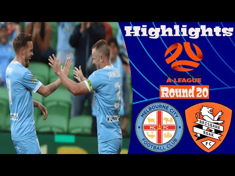Melbourne City Brisbane Roar Goals And Highlights