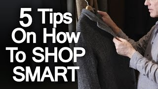 5 Tips To Build A Wardrobe On Cheap Budget | Dress Sharp For Less | Thrifty Man Buying Tips