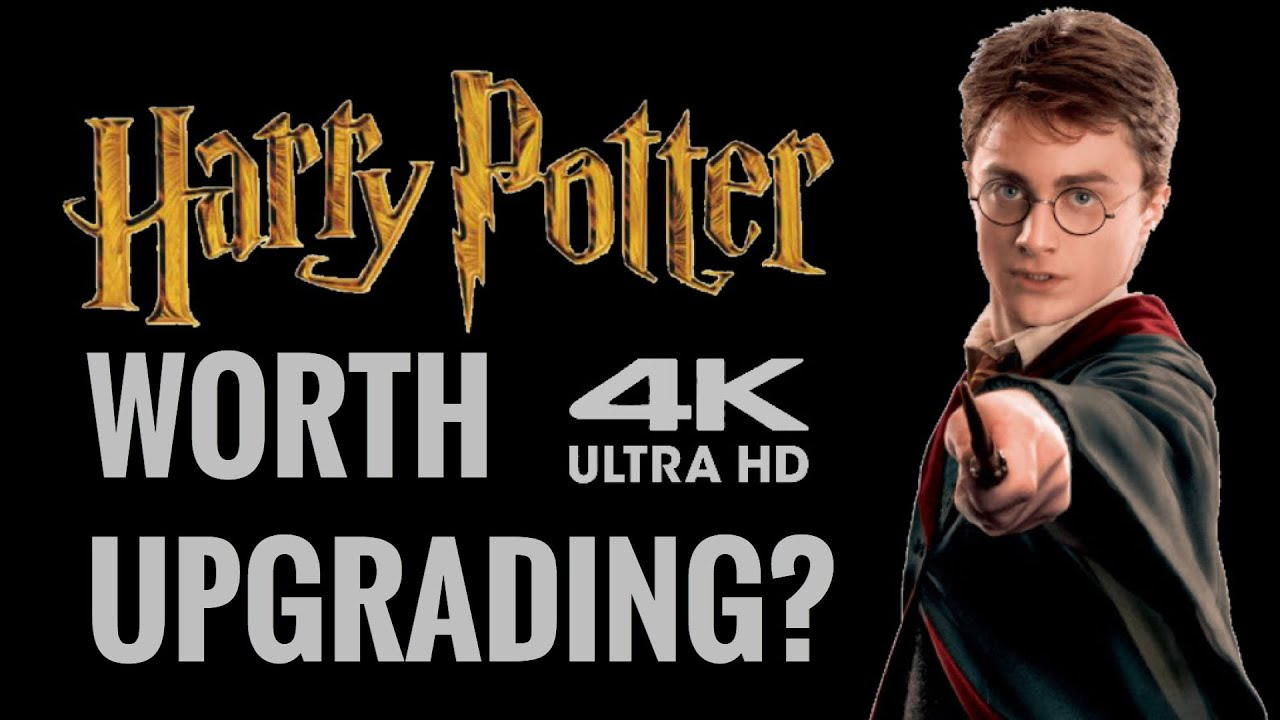 HARRY POTTER 4K ULTRAHD BLU-RAY REVIEW | WORTH AN UPGRADE?