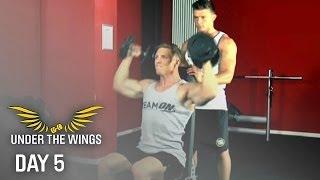 Steve Cook - DAY 5 - Shoulders - UNDER THE WINGS