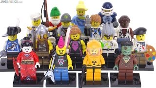 LEGO Series 4 Collectible Minifigs from 2011 reviewed!