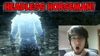 Skyrim - Headless Horseman Ghost EASTER EGG!