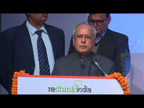 Fifth Estate Address by Sri Pranab Mukherjee, Education President of India