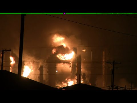 Download Plant explosion, fire rocks Port Neches early Wednesday morning