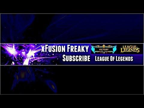 Speed Art League Of Legends Channel Banner