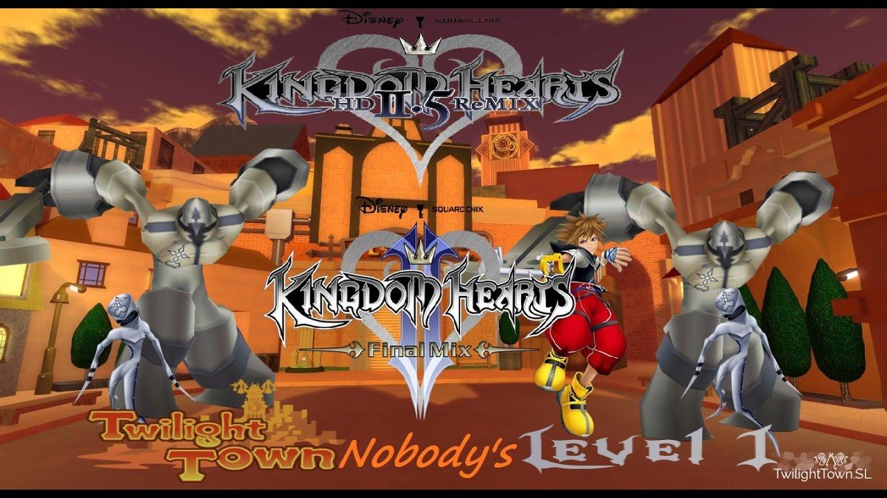 Kingdom Hearts 2:Final Mix- Twilight town visit 2 level 1(let's ...