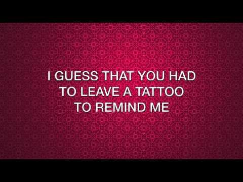Hilary Duff - Tattoo (lyrics)