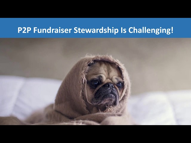 Stewardship That Works  Build a Strong Relationship with Your Virtual Event P2P Fundraisers