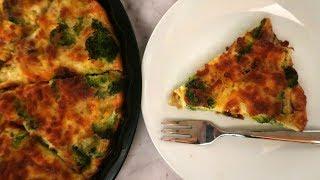 Crustless Broccoli Quiche Recipe  Easy Low Carb Vegetarian Recipes