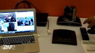 E4 AV Tour: ClearOne Features Versa 100 Solution With Spontania Clo...