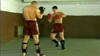 Jerome Le Banner - Blocking punches and low kicks