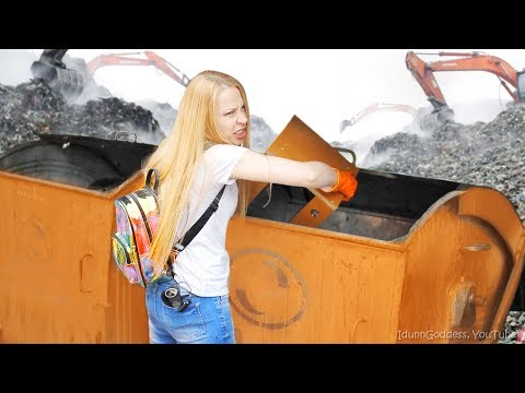 City Waste Raid – Remaking Trash To Treasure - Dumpster Diving