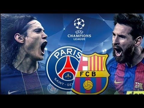 Fifa17   Barcelona vs PSG    Full Gameplay on(Ps4/Xbox) 1080p