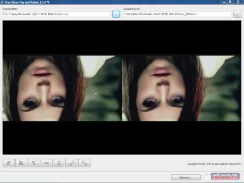 Videos drehen & spiegeln mit Flip & Rotate (Freeware)