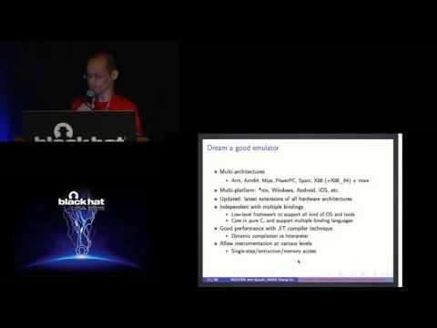 Unicorn: Next Generation CPU Emulator Framework