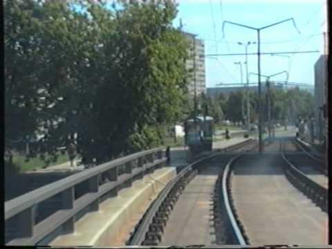 Straßenbahn Dresden 2001 linia 7 Gorbitz - Infineon