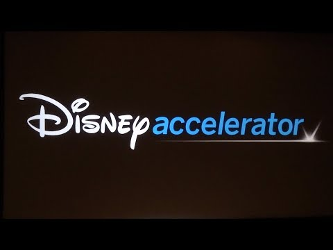 Disney Accelerator program for new entertainment technology FULL PRESENTATION 2017
