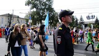 Карнавал в Туле. День города  13 сентября 2014.