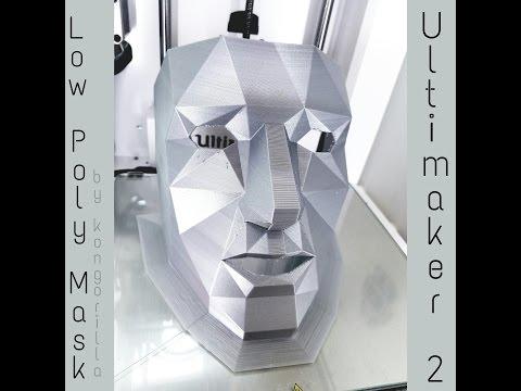 Timelapse Thursday - Low Poly Mask