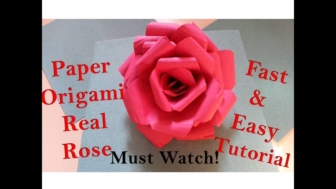 Easy DIY Paper Flower Tutorial - Cards & Pockets Design Idea Blog | 720x1280
