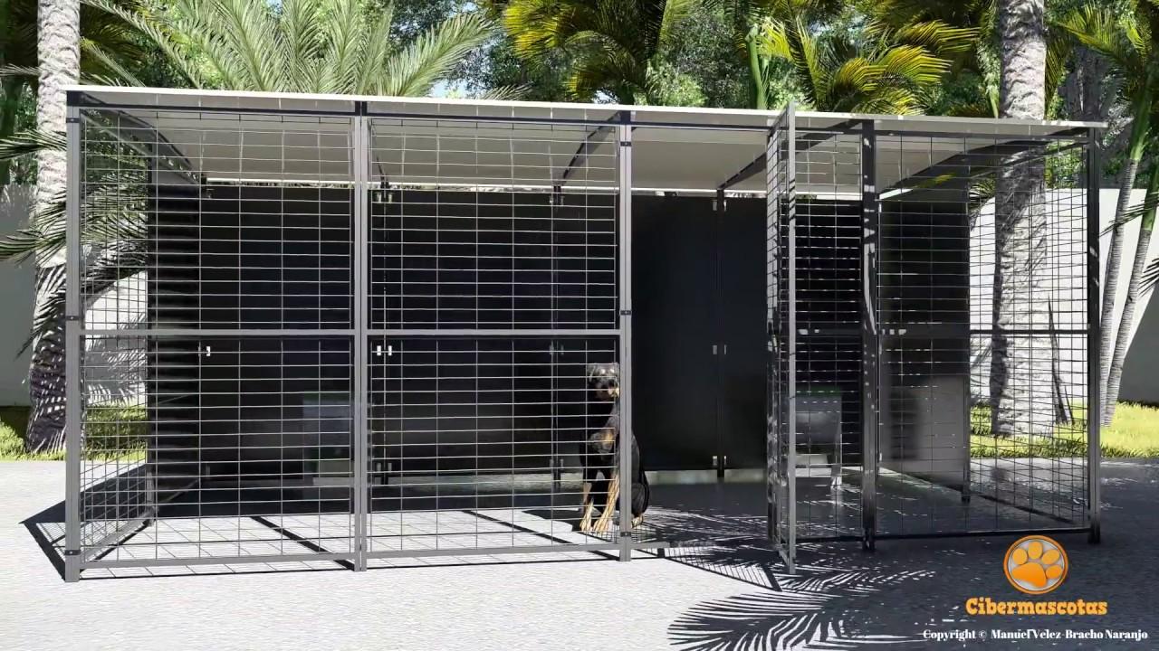Jaulas para perros modulares youtube for Jaulas de perros
