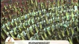 #SuenaParaguay Conjunto de arpas mas grande del mundo - Pájaro Campana y Carreta guy