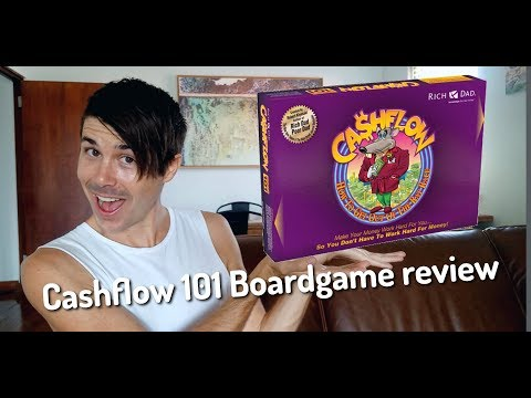 Cashflow 101 Boardgame Review | Limited Replay Value