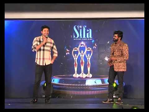 Sifa Awards and models rap show at Chennai Super cat walk