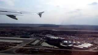 Вылет Airbus A320 из Питера (очень красиво)