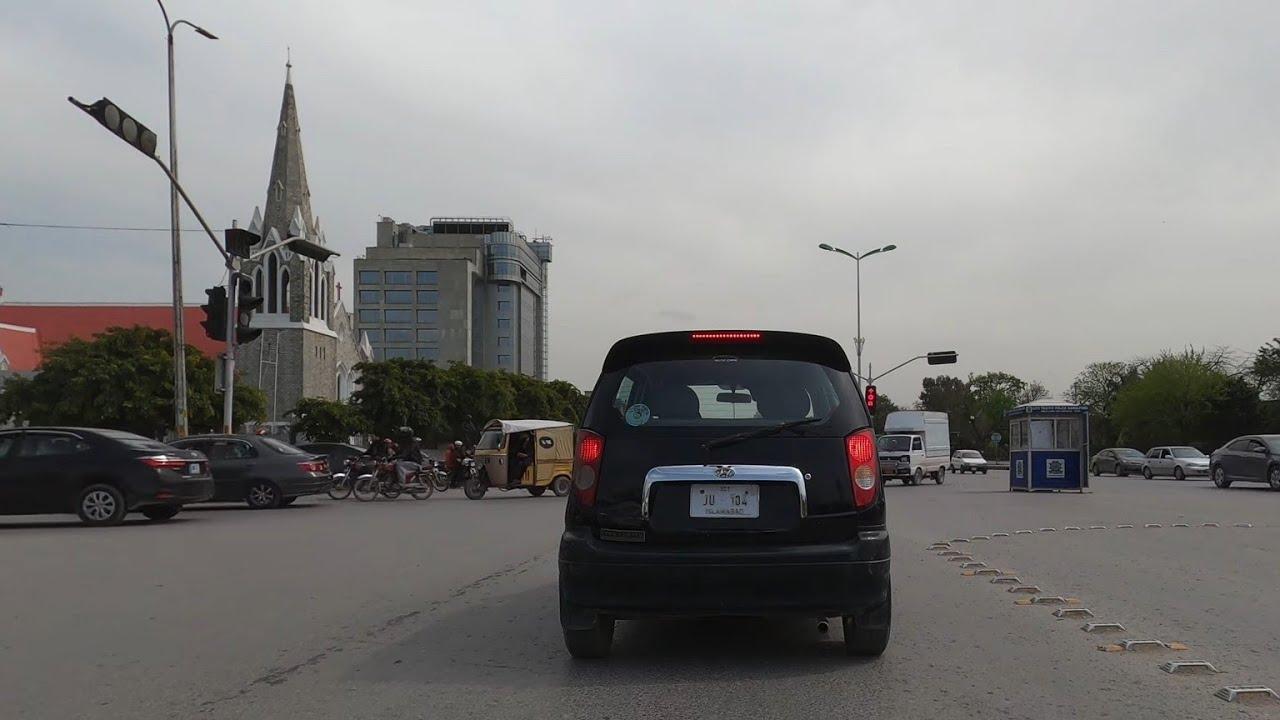 [4K] Driving in Saddar Rawalpindi Pakistan
