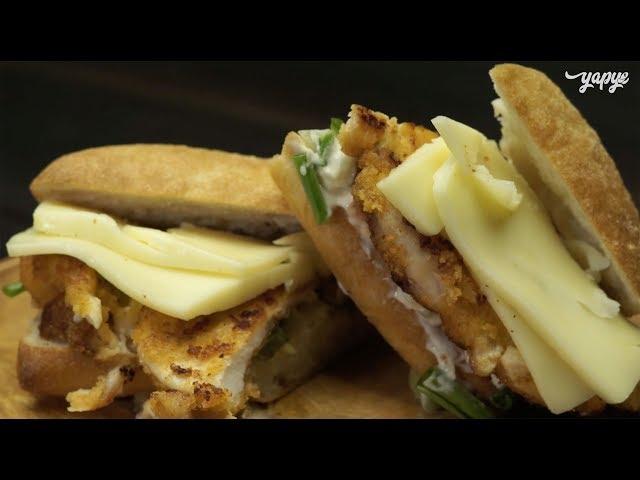 Tavuk Pane Sandviç Tarifi, Nasıl Yapılır?