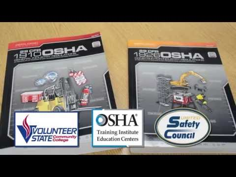OSHA 500 Series Courses at United Safety Council
