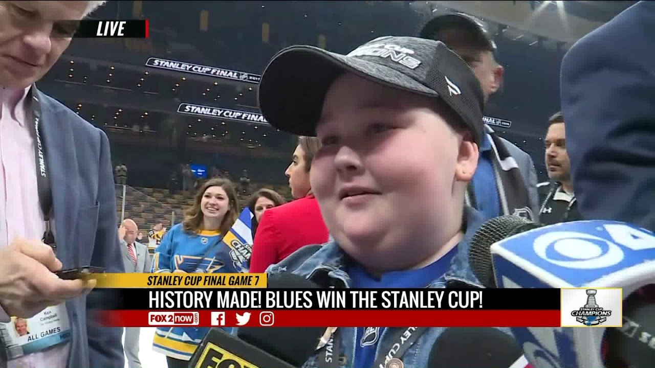 St. Louis Blues' Stanley Cup championship rings honor 'Play Gloria,' superfan Laila Anderson