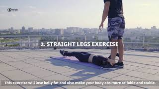 7 Simple Exercises to Shrink Hanging Lower Belly Fat | WEIGHT LOSS INFORMATION