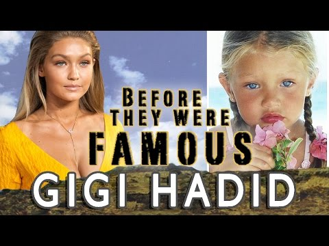 GIGI HADID - Before They Were Famous
