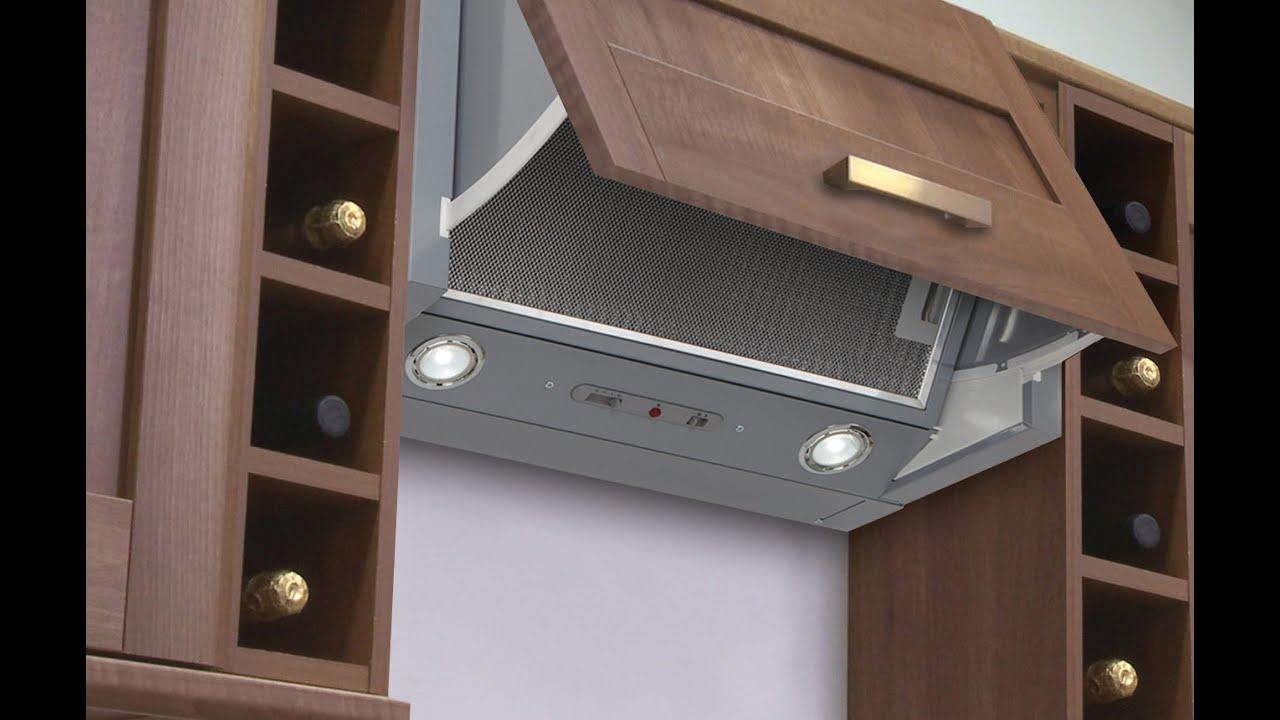 Integrated Kitchen Extractor - Luxair Cooker Hoods - YouTube
