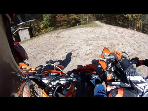 Riding on 10-23-16 - Wayne National Forest Long Ridge Section