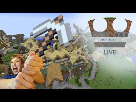 Jirka Hraje - Minecraft #44 Objevování 1.8. Novinek (live)