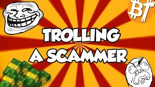 Trolling a cryptocurrency scammer in (2018)|Scamexposing