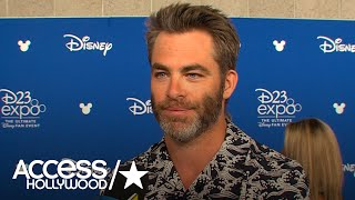 Chris Pine On Working With Ava DuVernay On 'A Wrinkle In Time' | Access Hollywood