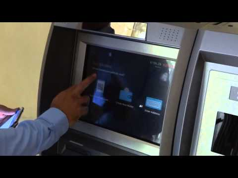 Two-Way Genesis Coin Bitcoin ATM In Ljubljana (Slovenia), Grand Hotel Union -- Buying Bitcoins