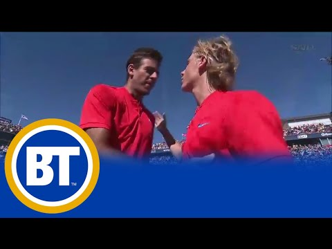 18-year-old Canadian tennis player Shapovalov faces Nadal today