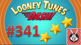 Looney Tunes Dash! level 341 - 3 stars - looney card.