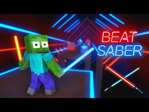 Monster School : Beat Saber - Minecraft Animation