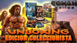 UNBOXING CONAN EXILES LIMITED COLLECTORS EDITION