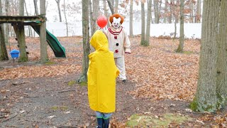 Pennywise is after Georgie!?!  Scary Clown from IT is Back - WeeeClown Around